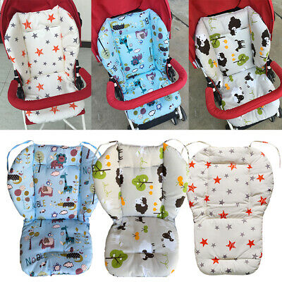 Baby Stroller Buggy Pram Pushchair Liner Mat Seat Chair Cushion Pad Star Print