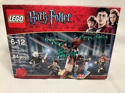 Lego Instruction Manual Only Harry Potter The Forbidden Forest 4865 GUC