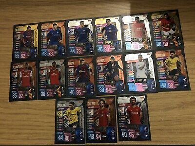 Match Attax 2019/20 Pick Your Limited Edition From List Mint