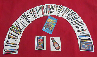 Wacky Packages All New Series Ans6 Complete Set 1-80     @@ Pack Fresh @@