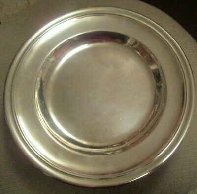 Vintage Christofle Silver Plate Serving Bowl Dish 10.5""