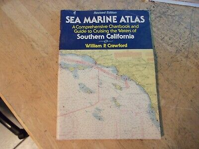 Vintage Sea Marine Atlas Southern California Chartbook Guide Cruising