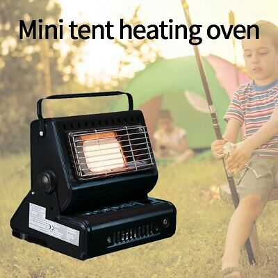 Portable Outdoor Cooker Stove Dual-Use Heater Camping Tent Gas Heater Stove E7S3