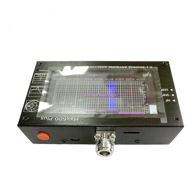 Touch Screen Vector Network Analyzer TF Card HF VHF UHF Frequency 0.1 To 600MHZ