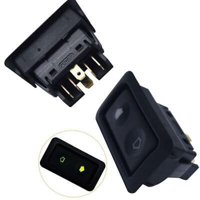 DC12V/24V Universal 6Pin Car Electric Window Switches Button Power Controller