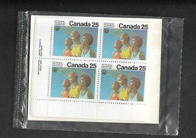 pk46938:Stamps-Canada PO Pak #683 Olympics Ceremony  25 ct Plate Block Set - MNH