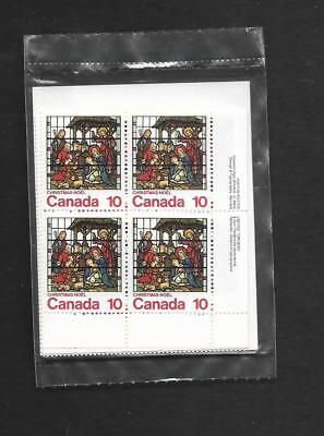 pk46940:Stamps-Canada PO Pak #698 Christmas 10 ct Plate Block Set-MNH