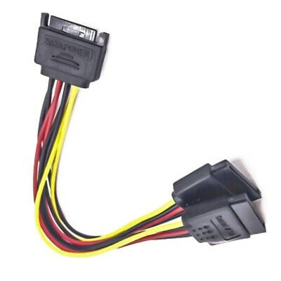 SATA Power Y Splitter Cabledapter Converter HOT Sale B7G4 M//F Power Cable