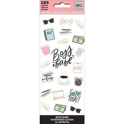 Happy Planner Sticker Sheets 8 pack - Boss Babe