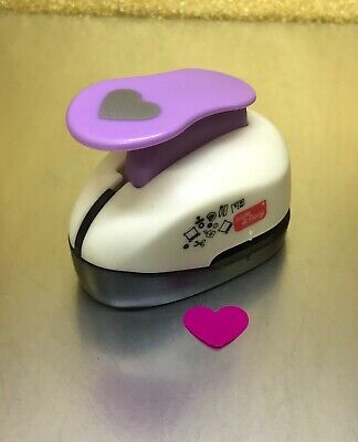"5/8"" CRAFT PAPER PUNCH ""HEART"" Scrapbooking Tool Punches Craft Cutter"