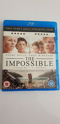 The Impossible (Blu-ray, 2013) (USED)