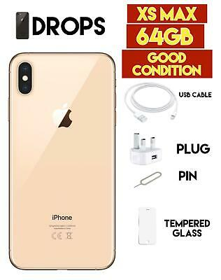 Apple iPhone XS Max - 64GB Gold - Unlocked Smartphone Various Colours