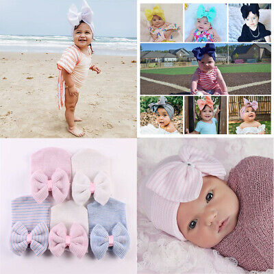 UK Baby Headband Cute Hairband Soft Elastic baby headbands Bow Hair Accessories