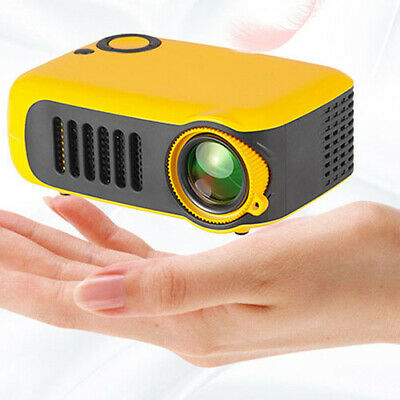 A2000 2 inch Children's Toy LCD Projector 320 x 240P Support 1080P HDMI USB AU