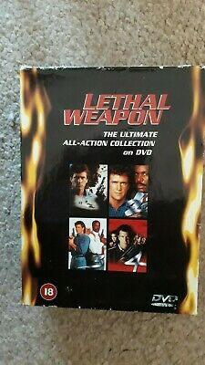 Lethal Weapon Collection - 1 - 4 Boxset (DVD, 2000, 4-Disc Set, Box Set)
