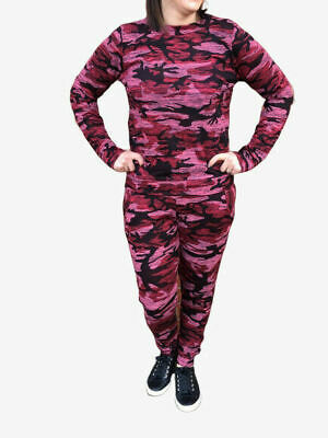11-12 YEARS  Girls Camo Print 2-Piece Lounge Wear Tracksuit Jogging Bottoms Top