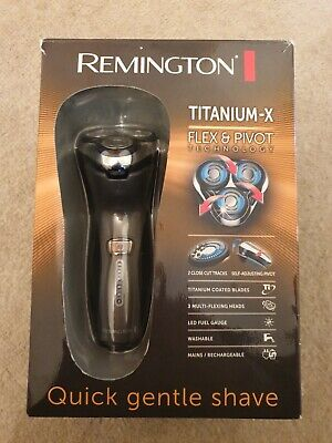Remington Titanium-X Flex & Pivot Technology R5150 quick and gentle shaving