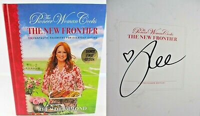The Pioneer Woman Cooks The New Frontier Ree Drummond ✎ SIGNED ✎1st NEW Cookbook