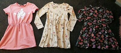 Girls Dress Outfit Bundle Christmas Party Age 6-7 H&M