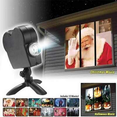 Window Wonderland Projector - Star Shower Window Display Christmas / Halloween