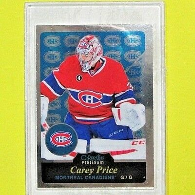 "CAREY PRICE  15-16  "" OPC PLATINUM RETRO ""  #R26   Montreal Canadiens"