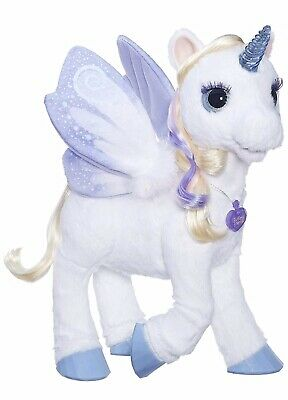 furReal StarLily My Magical Unicorn Interactive Plush Toy StarLilly Star Lily