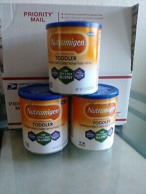 3 New Nutramigen Toddler 12.6 oz