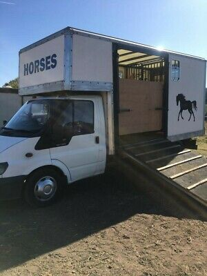 HORSEBOX - FORD - 3.5T - recently converted van - VERY spacious size