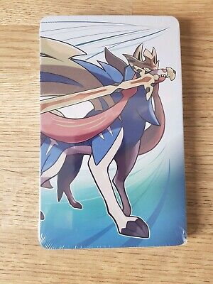 NEW SEALED OFFICIAL Pokemon Sword STEEL BOOK for Nintendo Switch Game steelbook