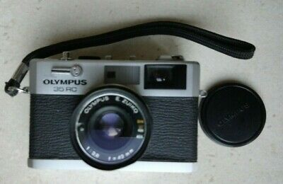 Olympus 35 RC Camera Fully Working, Film Tested inc Strap Lens Cap and Filter