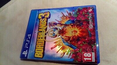 Borderlands 3 (PS4) Game inc Gold Weapon Bonus Skin Pack DLC