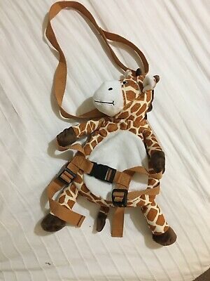 Bobo Buddies Daffy Giraffe Toddler Reigns And Backpack