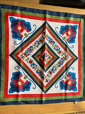 Women's Authentic Vintage Roberta Di Camerino Made In Italy Scarf