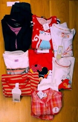 BNWT Branded Girls Clothes BundleAge 5-6Yrs Worth £80 Approx/2 outfit set-6 tops