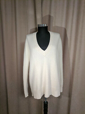 Excellent 100% CASHMERE thick Oversized jumper sweater Zara