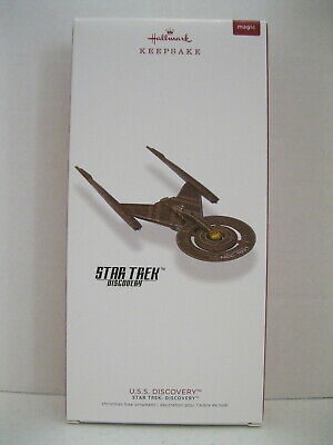 Hallmark 2018 Keepsake Ornament Star Trek U.S.S. Discovery MAGIC: Light - MIB