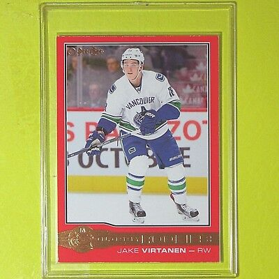 "JAKE VIRTANEN  2015-16 "" ROOKIE OPC GLOSSY RED ""   #R5   Canucks"