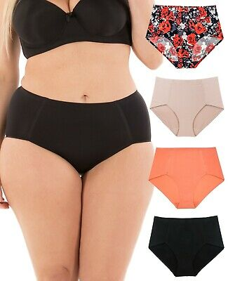 B2BODY Seamless Underwear Women No Show High Waisted Panties Small to Plus Size