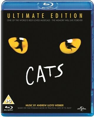 Cats - Ultimate Edition (BLU-RAY, 1998) *NEW/SEALED* 5050582943184, FREE P&P
