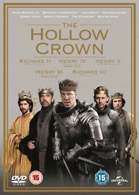 The Hollow Crown: Series 1 and 2 (DVD 7 DISC BOX SET, 2015) *NEW/SEALED*