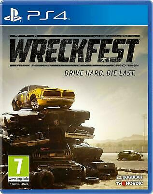 Wreckfest Banger Racing (PS4 VIDEO GAME) *NEW/SEALED* IN STOCK *FREE P&P*