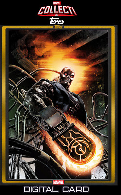 2019 COMIC BOOK DAY DEC 4 GOLD GHOST RIDER 2099 #1 Topps Marvel Collect Digital
