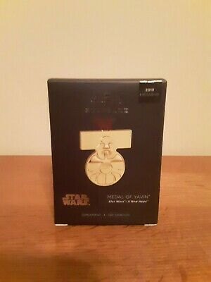 Star Wars Medal of Yavin 2019 Hallmark Keepsake Exclusive Ornament Pop Minded
