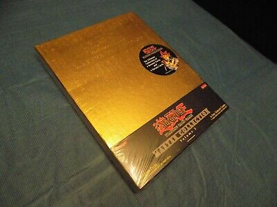 1996 Yu-Gi-Oh! Master Collection Gold Case SEALED - Complete #1 RARE