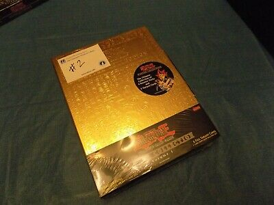 1996 Yu-Gi-Oh! Master Collection Gold Case SEALED - Complete Lot #2 RARE