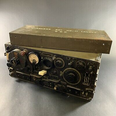 Vintage Ww2 Awa Australian D^d Wireless Set No.11 Radio Coms Jeep Blitz Bren