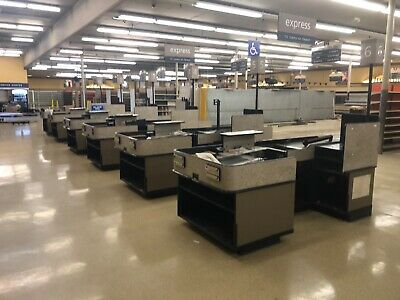 Electric CHECKOUT COUNTER Motorized Grocery Store