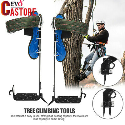 Tree Climbing Spike Safety Set Stainless Steel