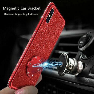Bling Glitter Case For Apple iPhone XS Max XR X 7 8 Plus Gel Soft Cover+ Lanyard