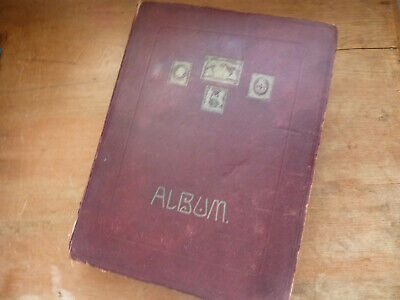 Gb/Worldwide/Commonwealth Large Early Stamp Collection, Old Time Schaubek Album